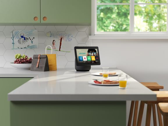Echo Show 10 ready for Netflix in the Kitchen
