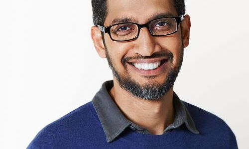 Portrait of Sundar Pichai