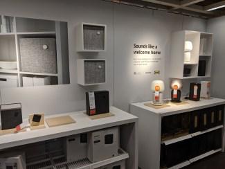 Ikea Smart Home Showroom with Ikea Symfonisk, Eneby Speakers and Ikea Smart Home products