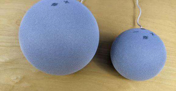 Amazon Echo Dot and Echo Dot 4th Generation