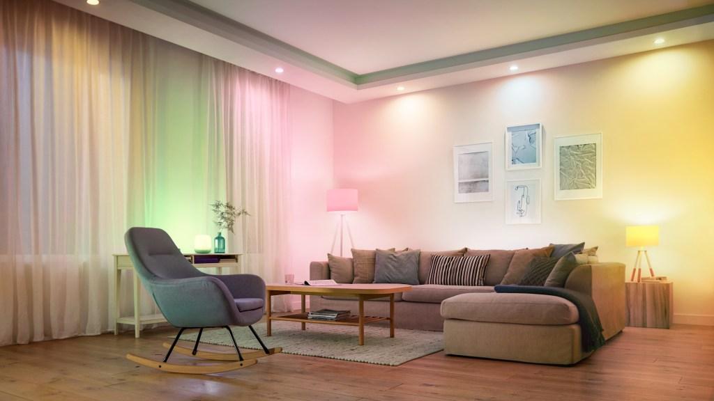WiZ-smart-home-living-room