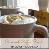 Caramel Coffee Recipe with Caramel Whip Cream #CupOfKaffe