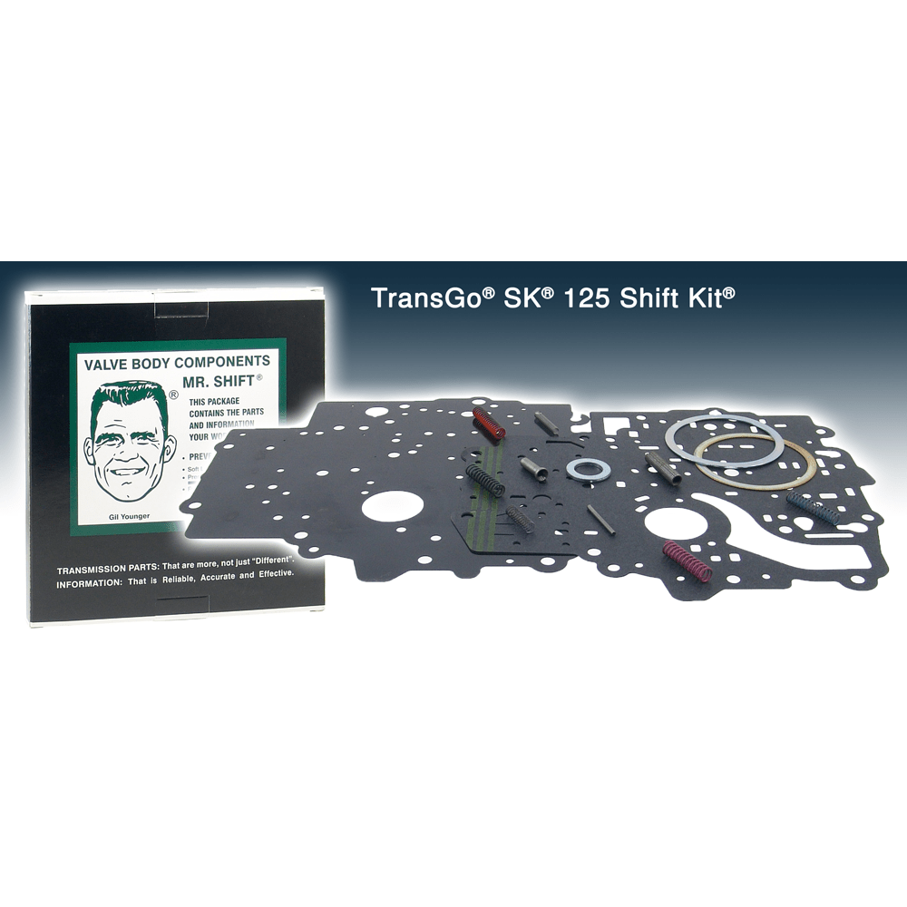 medium resolution of transgo sk 125 shift kit to suit thm 125 c 1980 to 2000