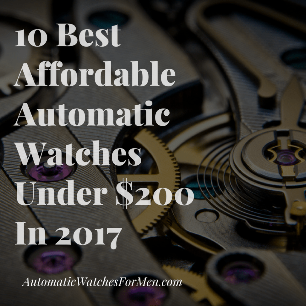 20 Types Of Watches You Should Know | Automatic Watches For Men