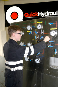 Quick Hydraulics runs a series of 3-day City & Guilds accredited training courses