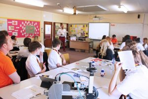 Rotech's managing director Chris Baker was keen to break down the perceived barriers and misconceptions and put engineering on young people's future career radar