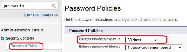 Password Policies