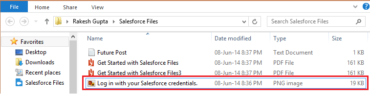 Salesforce Files Sync