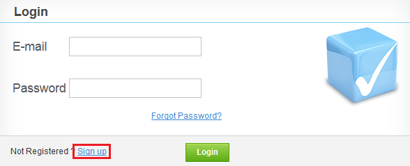 Signup for Checkmarx