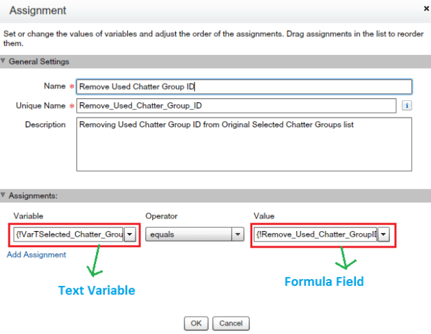 Assign remaining Chatter Groups IDs to Text Variable