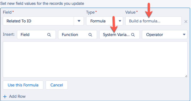 Create a Formula - Process Builder