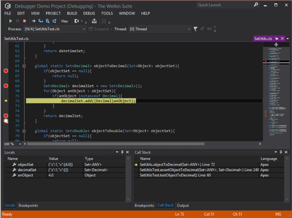 Powerful time-saving IDE for Salesforce development