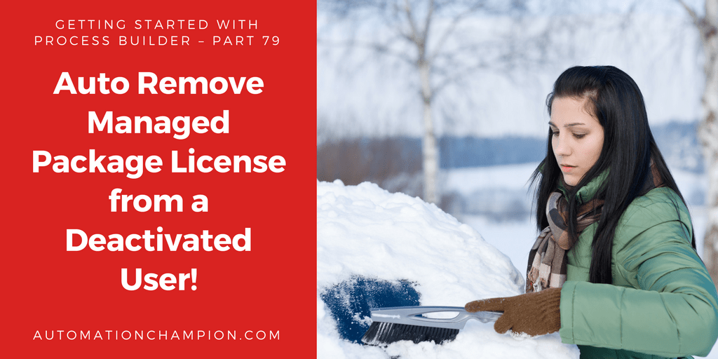 Getting Started with Process Builder – Part 79 (Auto Remove Managed Package License from a Deactivated User!)