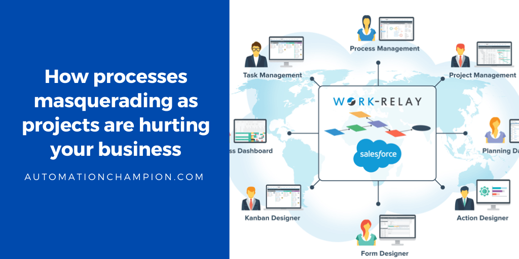 [App Review] How processes masquerading as projects are hurting your business