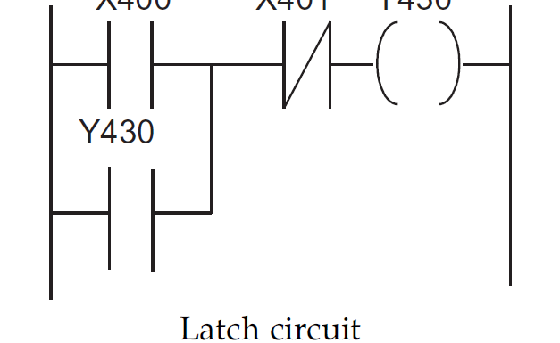 What is Latch? How does a Latching work in PLC program