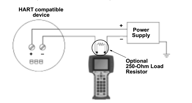 How to change set-point using HART communicator? Different