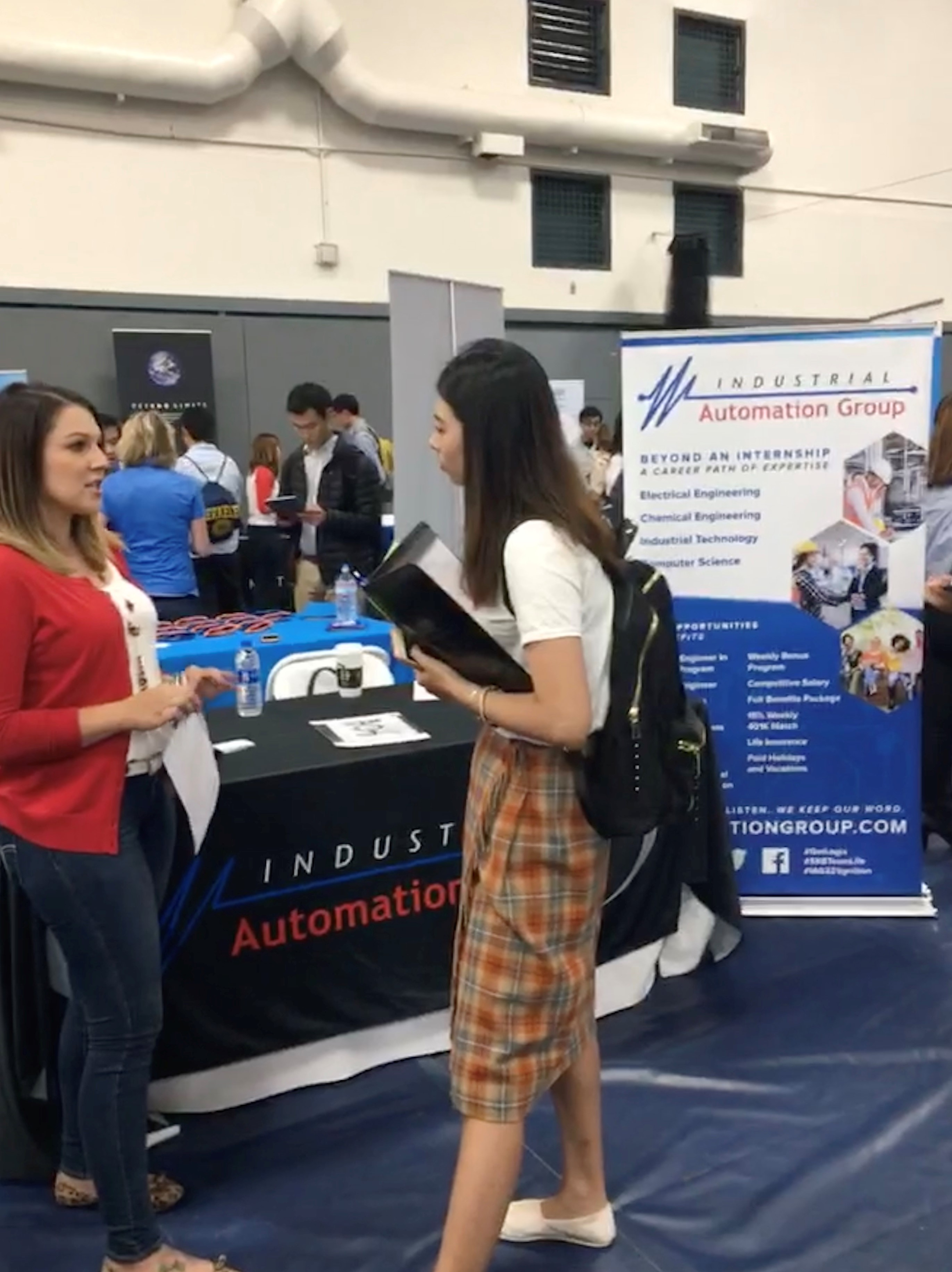 UC Berkeley Career Fair – Automation Group