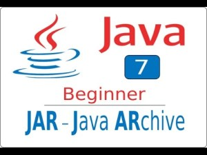 How to create JAR file from Java Project Archives