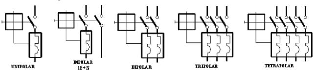 Polos magnetotérmico