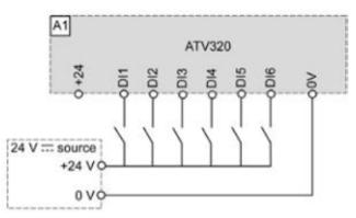 Conexiones en variador de frecuencia