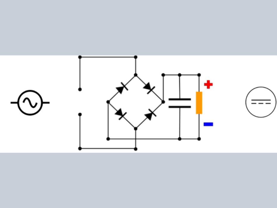 Rectificador de puente de diodos