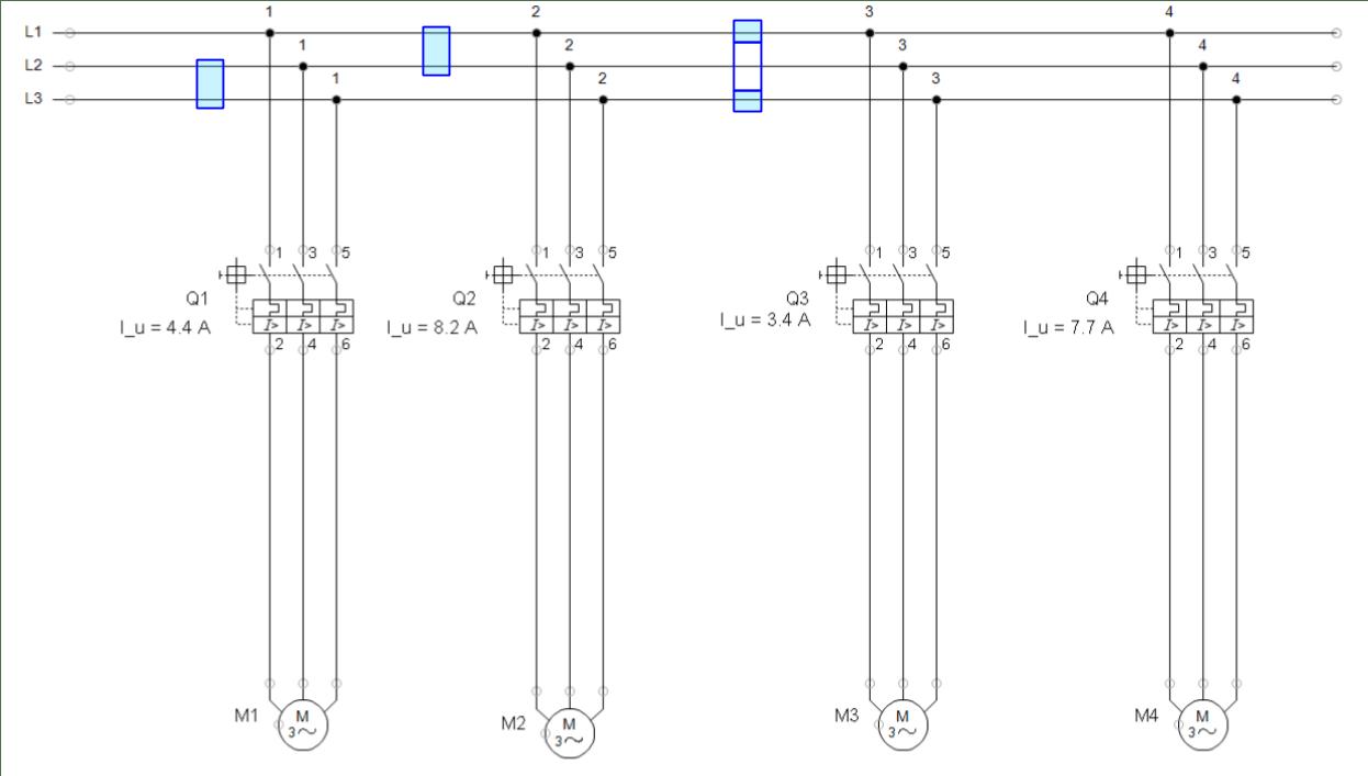 Regulación guardamotor