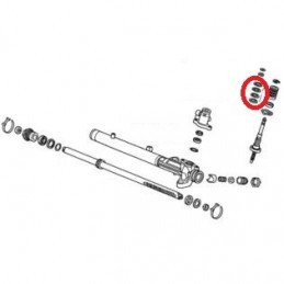 Honda Power Steering Seal Kit (Stem)