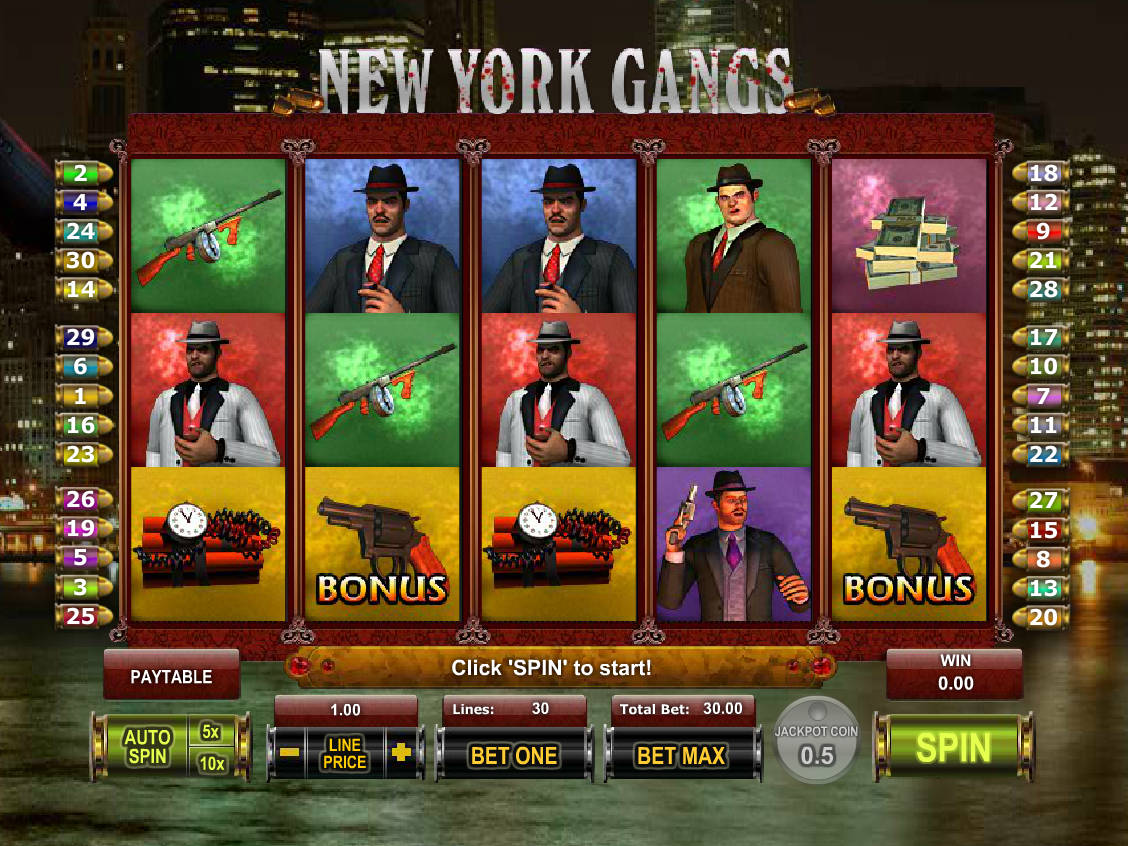 Automat New York Gangs Zdarma Online