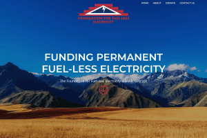 Foundation for Fuel-less Electricity