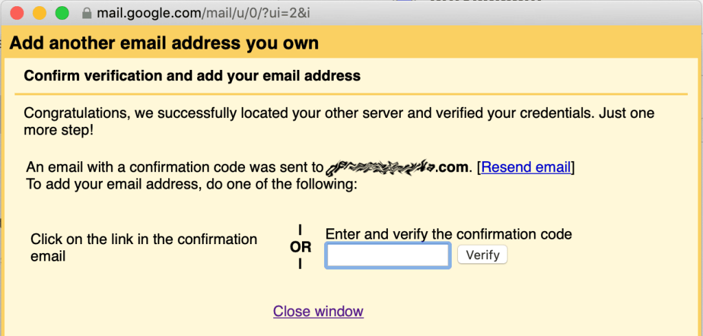 Gmail Add Email Verify Confirmation
