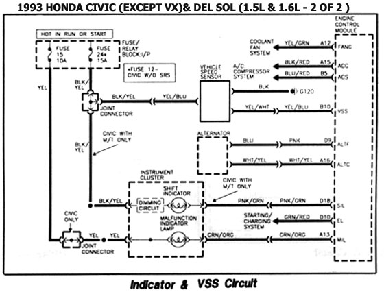 1996 Geo Tracker Wiring Diagram Manual Trans Honda 1986 93 Diagramas Esquemas Ubicacion De