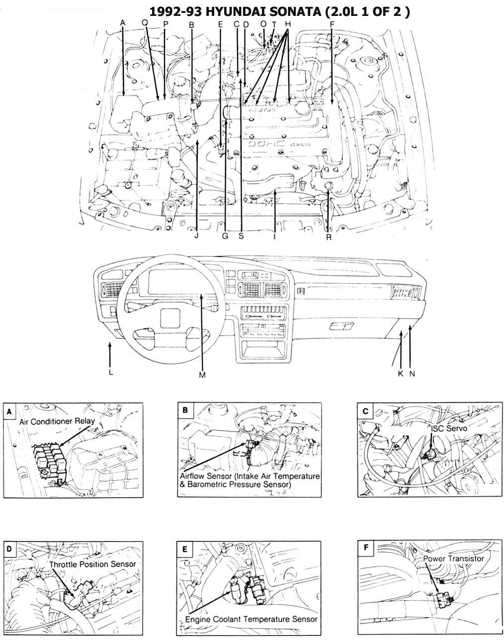 Diagrama De Motor Hyundai 2000, Diagrama, Free Engine