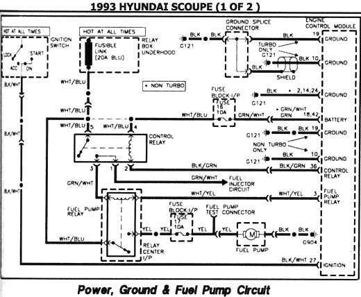 1996 Hyundai Accent Radio Wiring Diagram Hyundai 1986 97 Diagramas Esquemas Ubicacion De