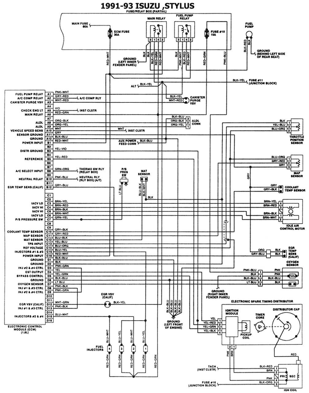 hight resolution of 1991 93 esquemas electricos trooper