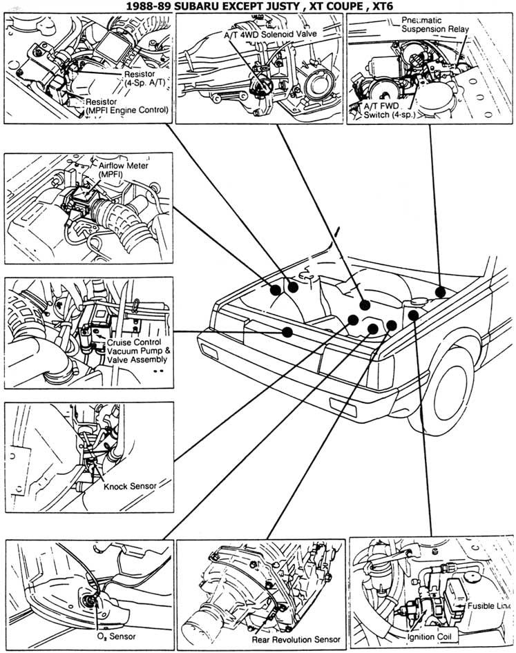 Engine Specificationsdiagrams Original Subaru Justy Forumsubaru