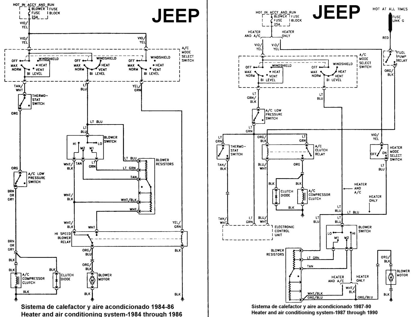 willys jeep wiring diagram warn winch contactor jeepster get free image