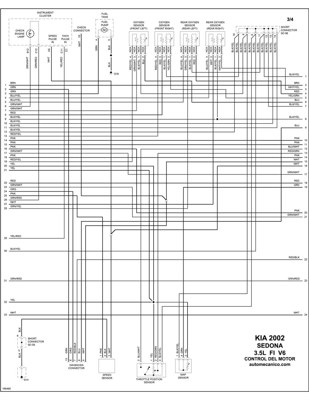 1998 Kia Mentor Wiring Diagram Auto Electrical Gmc T7500 Related With