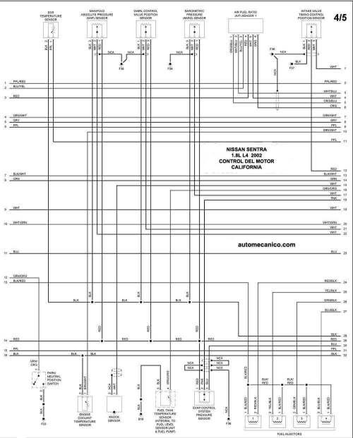 small resolution of de tiempo nissan sentra 2002 on nissan altima 2001 2 4 engine diagram symbols moreover diagrama de nissan sentra 2001
