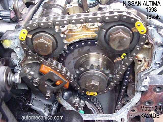 Nissan Sentra 2002 To Download Diagrama Cadena De Tiempo Nissan Sentra
