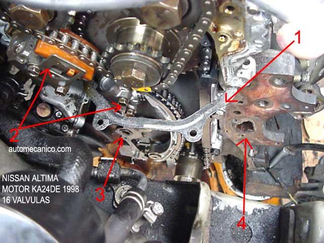 Cadena De Tiempo Nissan Altima 2.5