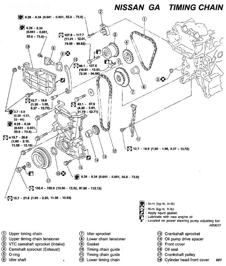 Nissan Ga16de Engine Service Manual