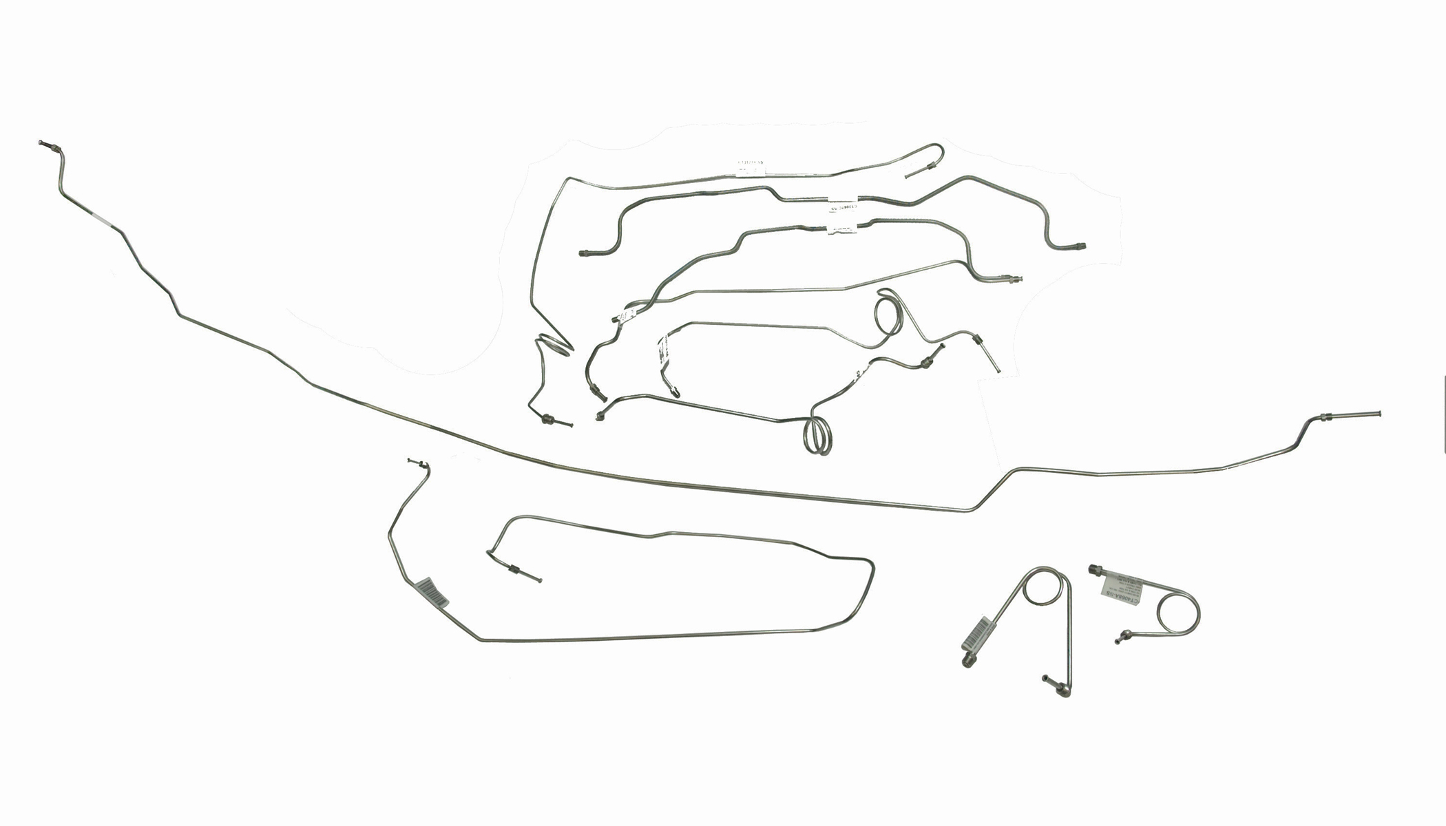 REPLACEMENT BRAKE AND FUEL LINES FOR GM/GMC 4WD TRUCKS