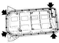 Ремонт БМВ 3 : Снятие и установка поддона картера BMW 3 (E46)