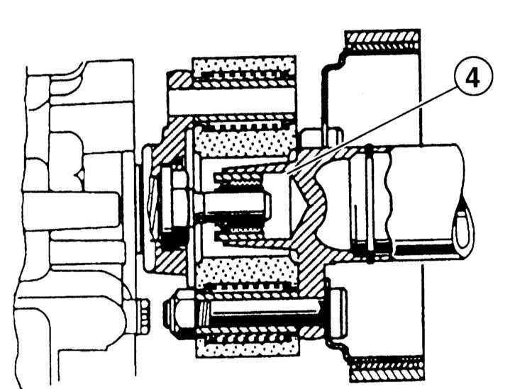 Ремонт БМВ 3 : Снятие и установка карданного вала BMW 3 (E46)