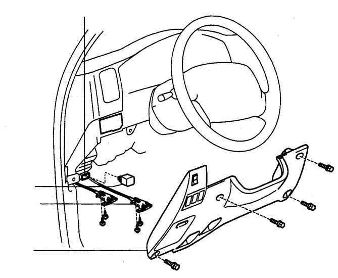 Ремонт Тойота 4 раннер : Проверка главного реле системы