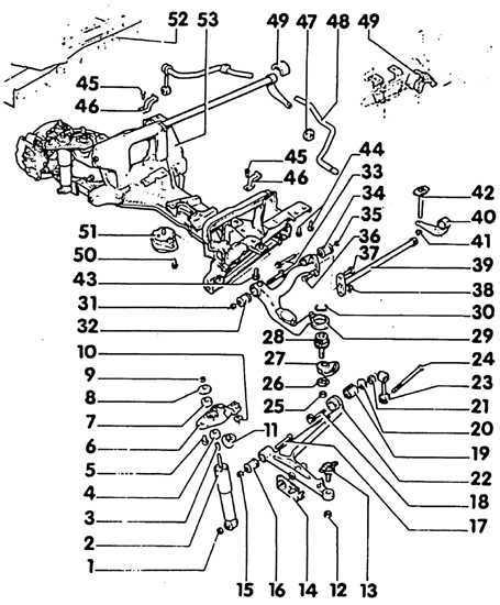 Ремонт Фольксваген Транспортер : Подвески VW T4