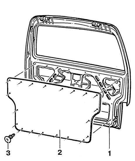 Ремонт Фольксваген Транспортер : Задняя дверь VW T4