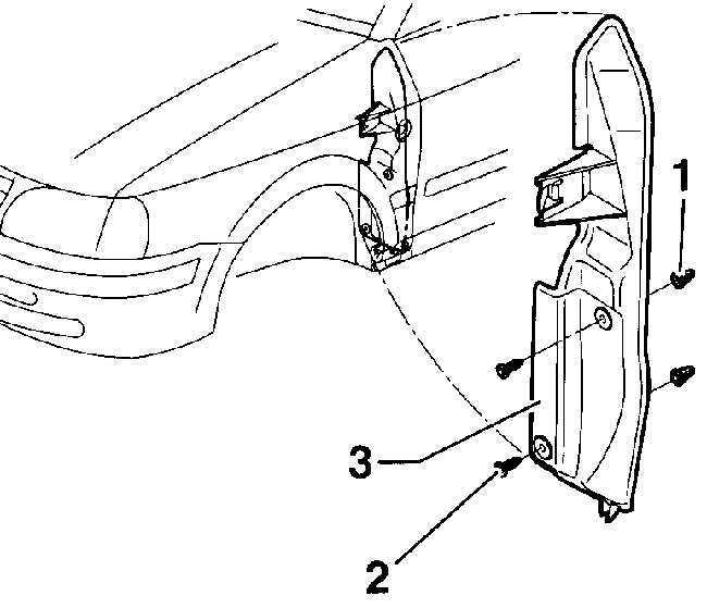 Ремонт Фольксваген Пассат : Переднее крыло VW Passat B5