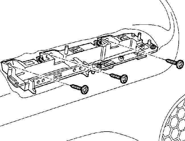Ремонт Фольксваген Пассат : Внутренняя отделка двери VW