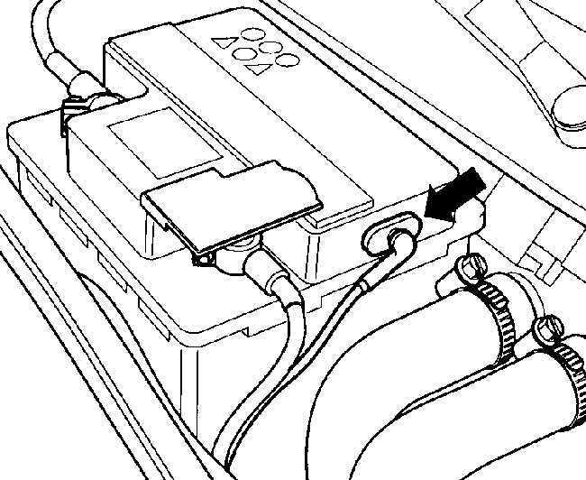 Ремонт Фольксваген Пассат : Аккумулятор VW Passat B5